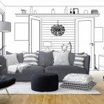 Planen Sie Ihr Wohnzimmer gut. Schließlich verbringen Sie auch viel Zeit in diesem Raum.