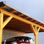 Beim Holz-Carport haben Sie unzählige Gestaltungsmöglichkeiten und auch das Preis-Leistungsverhältnis kann sich sehen lassen.