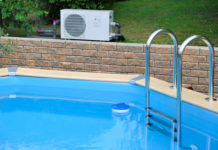 Schwimmbad-Wärmepumpe