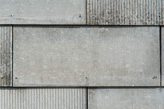 Fassadenplatten aus Faserzement