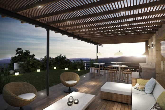 Terrasse, Terrassenüberdachung