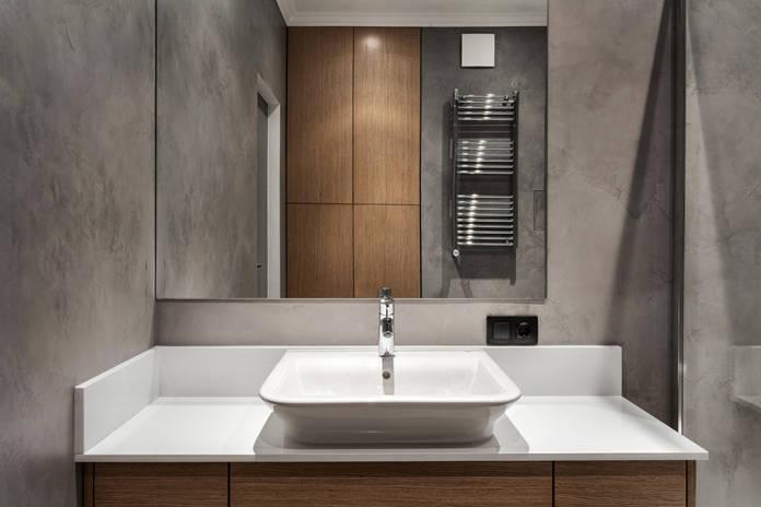Badschrank, Spiegelschrank