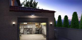 Garage, Garage gemauert