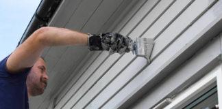 Hausfassade, Hausfassade streichen